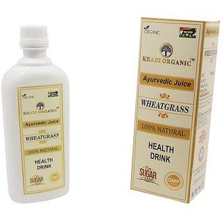 Khadi organic Wheatgrass juice(500ml)