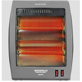 Maharaja Whiteline 400/800 Watt Spark Plus Quartz Heater(VIEW SHOPPERS)