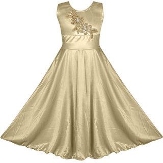 a0dd67ccc1f Buy Fashion Dream Girls Party wear Dress-G-Flowers- Cream Online - Get 58%  Off