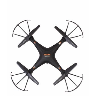 Vision Drone with HD Camera Plastic 4CH 2.4GHz Drone Quadcopter with Wifi Camera and Remote Controller