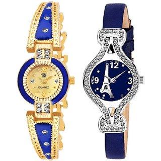 Swadesi Stuff BANGLE Multi DIAL ELEGANCE NEW ARRIVAL Luxury Ethnic Multi Bracelet Look Watch - for Women  Girls
