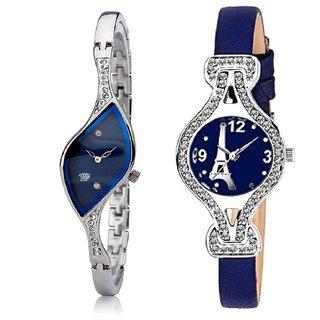 Swadesi Stuff BANGLE Multi DIAL ELEGANCE NEW ARRIVAL Luxury  Ethnic Multi Bracelet Look Watch - for Women  Girls- kc5