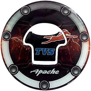 Customize fuel cap Sticker protractor For TVS Apache Bikes