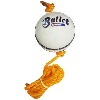 Port Bullet White Hanging Cricket Practice Ball