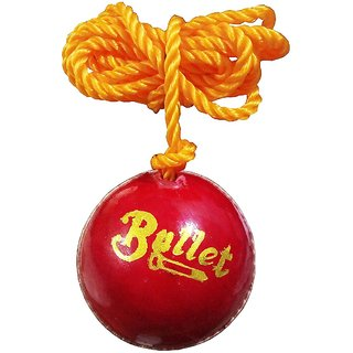Port Bullet Red Hanging Cricket Practice Ball