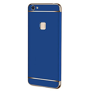 Wondrous Luxury 3in1 Electroplated Hard PC Back (Matte Finish) Case Cover for Vivo Y81