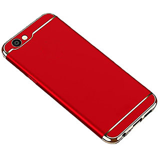 Wondrous Luxury 3in1 Electroplated Hard PC Back (Matte Finish) Case Cover for Oppo  A83