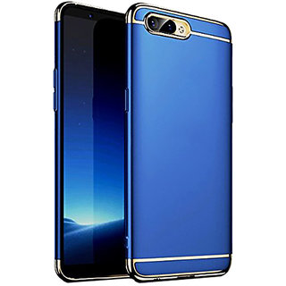 Wondrous Luxury 3in1 Electroplated Hard PC Back (Matte Finish) Case Cover for Oppo  A3s