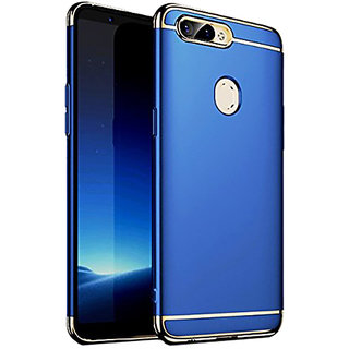 Wondrous Luxury 3in1 Electroplated Hard PC Back (Matte Finish) Case Cover for Oppo  A5