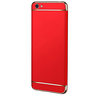 Wondrous Luxury 3in1 Electroplated Hard PC Back (Matte Finish) Case Cover for Vivo  Y71