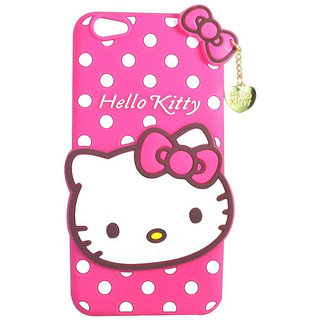 Wondrous™ Hello Kitty Soft Silicon Back Case for Vivo Y69