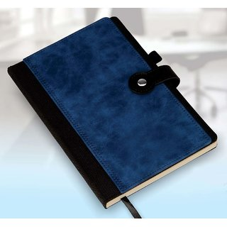 VAGMI B73 - Premium Notebook with Card Holder, Bookmark, Pen Holder (Can be Laser Engraved)
