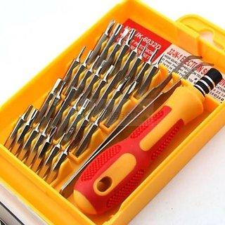 Screwdriver Jackly(32 in 1) Magnetic Screwdriver Set Repair Tool Kit