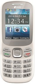 PEAR P312 dual sim, 1.8 inch, 1100mah big battery, mobile phone in white color.