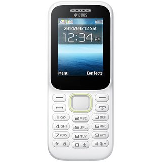 PEAR P310 White 1.8 inches (4.57 cm) Display Dual Sim 2G Feature Phone 6 Months Device Warranty