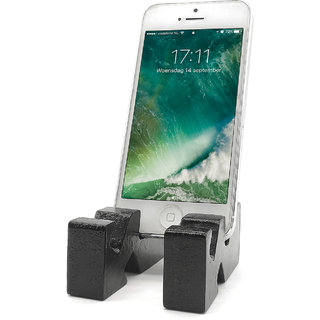 various angles  Design Mobile Phone Stand / Holder For Smartphone (Black)
