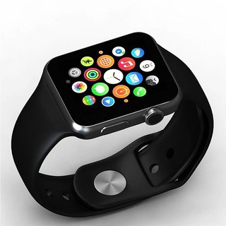 A1 smart watch Smart phones compatiable smart watch with camera  smart watch with TF card smart watch with sim card support fitness tracker bluetooth smart watchWrist Watch Phone 4G Smart WatchAny color  Compatible with smartphones