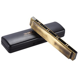 QIMEI QM24A-14 24 Holes Harmonica Tremolo Mouth  Key of C