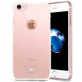Transparent Flexible Slim Mobile Back Cover For Iphone 7