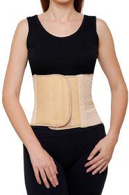 AR Abdominal Belt Waist Support Post Pregnancy Back Support Beige - Large (36 cm - 40 cm)