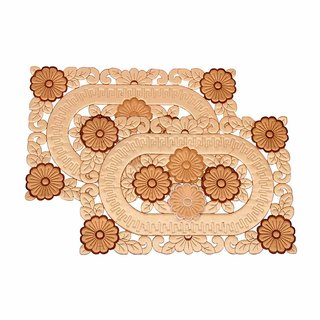 VAA Quilted Cloth Table Mat (Set of 2)