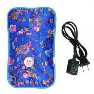 Electric Hot Water Bag (Multi Color and Multi Design)