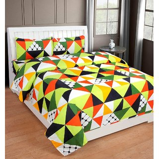 Homelike 3D polyCotton Double Bed Sheet