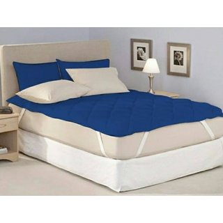 Luxmi polyester and polyster fabric Water replant Double Bed Mattress Protectors with Elastic Band