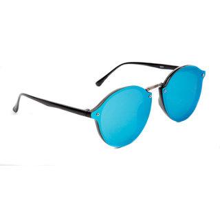 TheWhoop Fashion Mercury Round Sunglasses Stylish Flat Design Round Goggles For Men, Women, Girls, Boys