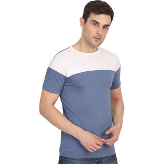 BrainBell Casual Double Shade T-shirt For Men