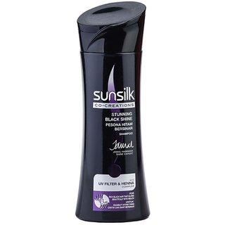 Sunsilk Co-Creations Stunning Black Shine Shampoo (Made In Thailand)