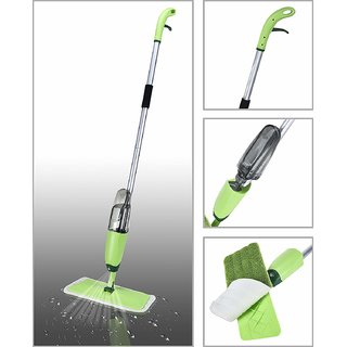 Smile Mom Quick  Easy Aluminium Spray Mop with Best 360 Degree Easy Floor Cleaning for Home and Office