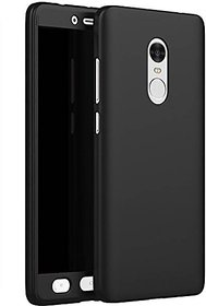 Gionee S6s 360 Degree Full Cover with temper glass - black