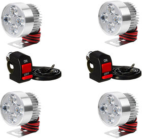 FOG LIGHT 4 LED 4 PCS FREE 2 ON/OFF SWITCH