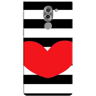 Tecpras Print, Slim Fit, Shock Proof, Hard Polycarbonate,Unique Matte Finish, 3D Printed Designer Mobile Phone Back Cover Case for Huawei Honor 6X