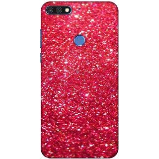 Tecpras Print, Slim Fit, Shock Proof, Hard Polycarbonate,Unique Matte Finish, 3D Printed Designer Mobile Phone Back Cover Case for Huawei Honor 7C
