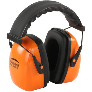 Mallcom Glider Foldable ear muff with ABScups SNR 28dB (with headband)