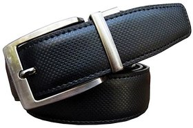 Winsome Deal Black and Brown Reversible Non Leather Belt