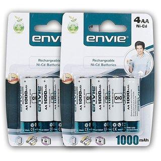 Envie 8 Nos of AA 1000 mAh  Battery