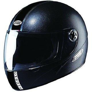 Studds Chrome Economy Motorbike Helmet Black