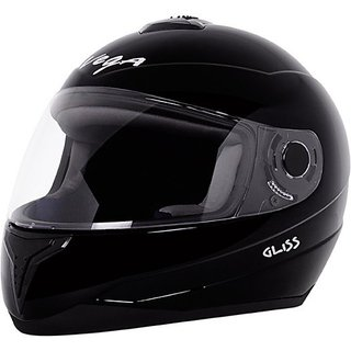5163ab40 Buy VEGA Gliss Motorbike Helmet Black Online - Get 11% Off