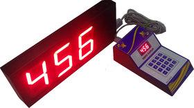 Token Display System 4 Inch Bell