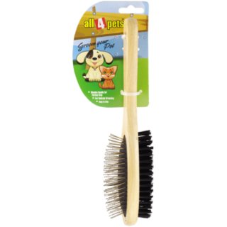 All4Pets DOUBLE SIDE PIN BRUSH (L) A4P 1103A-L