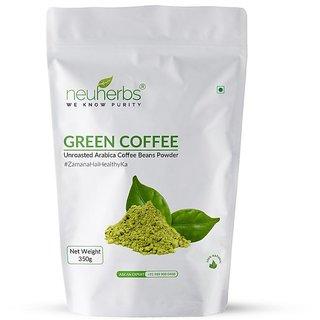 Neuherbs Organic Green Coffee Beans Powder for Weight Loss 350 g
