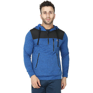 Built Natural Hoodie Sweatshirt For Men Long Sleeve Pullover Tops Fleece with Pocket