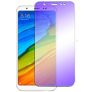 Wondrous Premium Anti Blue Ray Tempered Glass, Screen Protector For Redmi 5