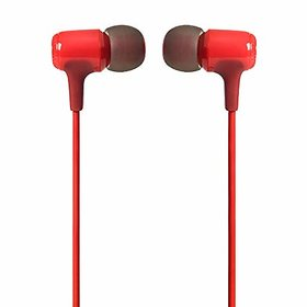 YezBay JB E15 Signature Sound in-Ear Headphones with Mic (Red)