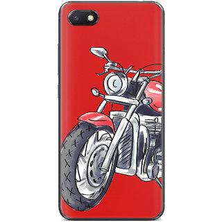 PEEPAL Xiaomi Redmi 6A Designer & Printed Case Cover 3D Printing Ride Motorcycle Design