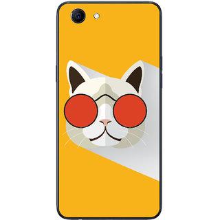 PEEPAL Oppo Realme 1 Designer & Printed Case Cover 3D Printing Stylish Cat Design