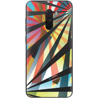 PEEPAL Xiaomi Poco F1 Designer & Printed Case Cover 3D Printing Art Multi Colour Design